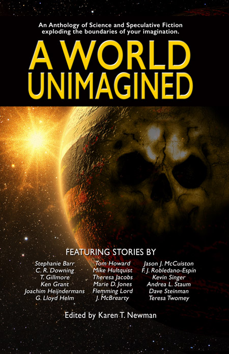 A World Unimagined, a sci-fi anthology by Left Hand Publishers