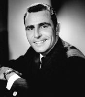 Rod Serling, writer, producer of the Twilight Zone