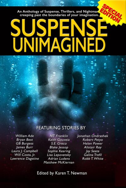 Suspend Unimagined, an anthology of horror by Left Hand Publishers horror, terror, mystery