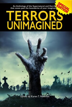 Terrors Unimagined, an anthology of horror by Left Hand Publishers horror, terror, mystery